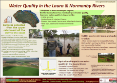 Watrer Quality in the Laura & Normanby Rivers